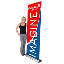 Retractable Display Stands 100100 Imagine Banner Stand 50