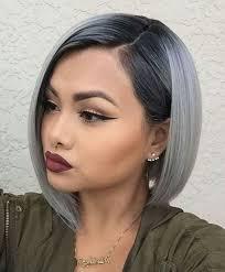 Pin Van Brenda Op Haarkleuren Kapsels Bob Kapsels En Korte
