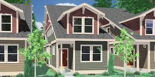 craftsman style house plans for small homes with narrow lot house plans building small houses