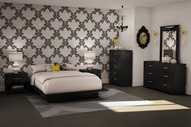 Wallpaper For Bedroom Black And White Wallpaper Room 8487