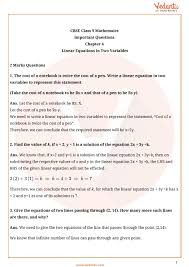 important questions for cbse class 9