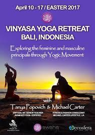 vinyasa yoga retreat bali easter 2017