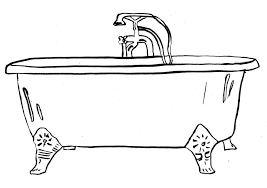 28 collection of clawfoot bathtub drawing high quality free