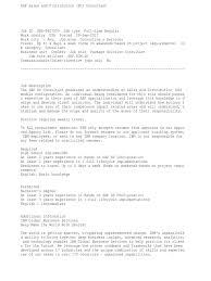 Sap Plm Syllabus Sap Plm Training Resume For Study