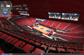 Detroit Little Caesars Arena Seating Chart Little Caesars Arena Virtual Seating Chart Pistons Best