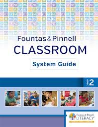 Fountas And Pinnell Where To Start Chart Fountas Pinnell Classroom System Guide Grade 2 1st