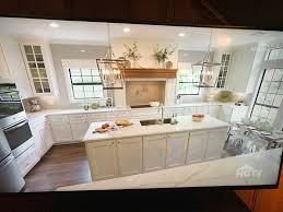 Kitchen Mantel Fixer Upper Season 4 Stately In White Kitchen Exactly What