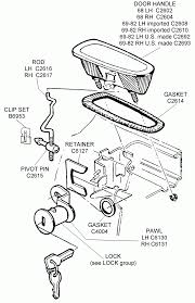 Car diagram ford focus parts diagram with picturer door handle