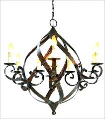 chandelier metal frame round parts iron with wood beads hanging chandelier metal frame