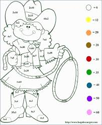 2nd Grade Math Color Worksheet With Coloring Sheets 5th Awesome
