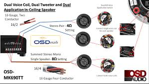 single subwoofer wiring diagram 4 ohm dual voice coil wiring dual 1 ohm sub wiring at Dual Voice Coil Subwoofer Wiring Diagram