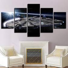 Dmyhope Druck Star Wars 5 Panel Cafe Inkjet Schlafzimmer Wohnzimmer