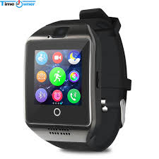 Time Owner TW-Q18 Smart Watch Camera TF SIM Card Phone Sync SMS Facebook Twitter Bluetooth Smartwatch for Samsung Android TW Q18