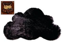 black faux sheepskin rug faux sheepskin cloud rug black black faux fur rug