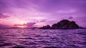 Purple Ocean Wallpaper By Stefanieproto Revelwallpapers Net
