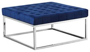 upholstered square ottoman coffee table