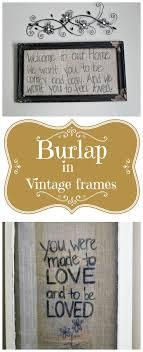 Burlap Crafts 101 Best Images About Burlap Crafts On Pinterest