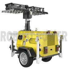 Portable Light Generator Hot Item 8m Portable Led Flood Light Emergency Generator Mobile Lighting Tower