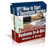 Secretarial Service Business