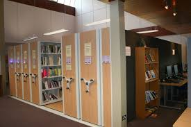 library book mobile shelving systems