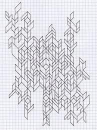 17 Graph Paper Art Designs Images Cool Graph Paper Art Designs