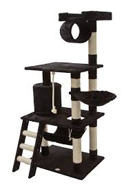 amazoncom  go pet club inch cat tree black  pet supplies