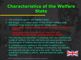 meeting the needs of a young nation s early s provide  characteristics of the welfare state the united kingdom the welfare state asa briggs in