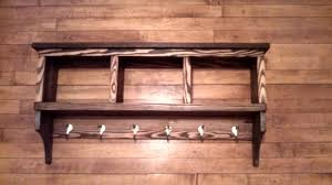picture of coat rack with shelf