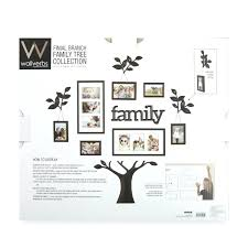 Family Tree Picture Frame Set Bed Bath And Beyond Wall Decor Collage. Family  Tree Picture Frame Wall Hanging Uk Decor.