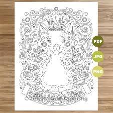 Fancy Llama Coloring Page Llama Art Coloring Book Printable Etsy