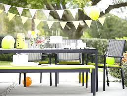yellow patio furniture. Yellow Patio Cushions Furniture Amusing Of Outdoor Round Long Wooden Table Under .