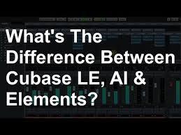 Cubase Version Comparison Chart Cubase Le Ai And Elements Differences