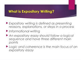 expository essay powerpoint russellrodrigo what is expository writing