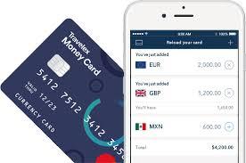 graphic detailing te travelex mobile app
