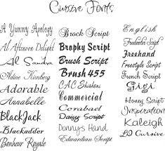 cursive tattoo fonts 1142