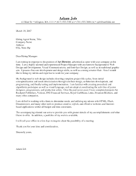 Graphic Designer Cover Letter For Resume Image Collections Cover