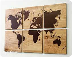 fashionable idea wooden world map wall art colors in conjunction with full size of wood