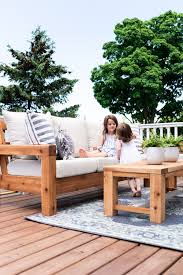 The Perfect Outdoor Sofa Free Plans Nick Alicia