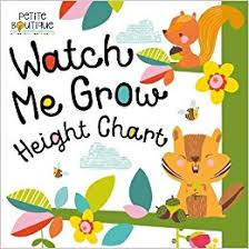 Watch Me Grow Chart Watch Me Grow Height Chart Petite Boutique Amazon Co Uk