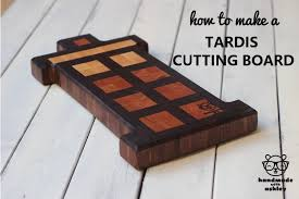 how to make a tardis end grain cutting board