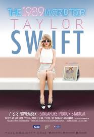 taylor swift the 1989 world tour singapore
