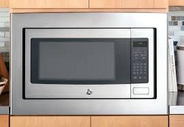 microwave dimensions countertop standard