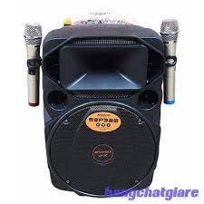 Loa kéo di động Bluetooth hát karaoke ZanSong A1266