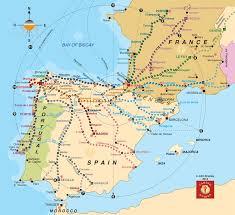 great map editorial buen camino, especializada en el camino de Camino De Santiago Map camino de santiago portuguese way 7 25 8 6 2013 here we camino de santiago mapa