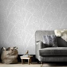... large Innocence Grey Wallpaper, ...