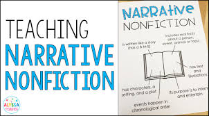 Chart Narrative Examples Teaching Narrative Nonfiction Alyssa Teaches