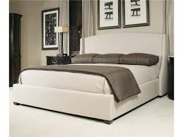 Bernhardt Interiors Beds King Size Cooper Upholstered Wing Bed