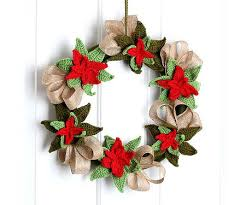 Free Christmas Crochet Patterns Custom 48 FREE Poinsettia Crochet Patterns