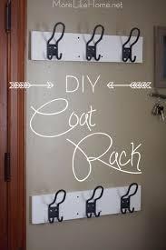 Easy Diy Coat Rack More Like Home Easy DIY Coat Rack entryway mini makeover 70
