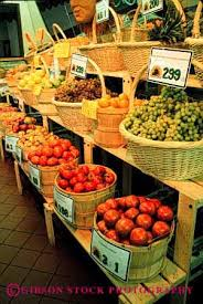 Fruit And Vegetable Stands And Displays Magnificent Produce Stand Stock Photo 32
